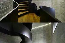 Stahltreppen-modern-steel-stairs / Treppen aus Stahl in allen Formen und Dimensionen. Moderne Stahltreppen sind Raumskulpturen in einem einzigartigen Foyer.