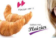 Bakken met Plaizier  / Een bakker met passie.