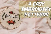 embroidery stitches and things