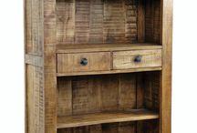 Rustic cupboards