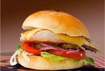 Nos Produits / Présentation de nos produits : burger, boissons, etc...