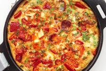 zapiekanki/ omlety