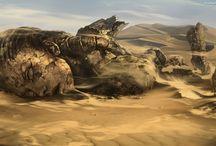 Widoki - pustynie