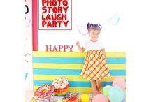 オシャレ4歳誕生日☆バースデー写真♡byラフパーティー