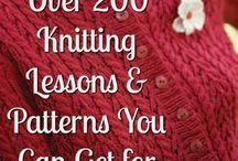 DIY / Knitting, sewing.