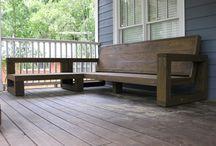 DIY outdoor sofas