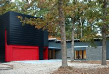past projects / Here are some views of past modern homes I designed and built.
