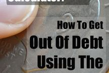 Debt Repayment / How to pay off debt, debt loans and payment plans.