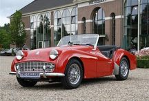 Triumph TR3 / Introduced in October 1955, the TR3 was little different from the preceding TR2. Changes to the Standard Vanguard-derived 2-litre engine boosted power from 90 to 95bhp, but the most obvious difference was the adoption of an egg box radiator grille. The engine developed 100bhp courtesy of a new cylinder head by mid-1956 then in August, Girling front disc brakes and the stronger Phase III Vanguard rear axle were standardised.