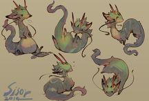 Fantasy Animals / Draw