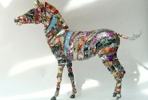 Recycled objects art