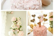 Floral Birthday Party Inspiration / Floral First Birthday Party Inspiration - flowers, food and party decorations.
