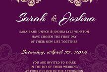 Wedding Invitations inspirations / Wedding invitation inspirations
