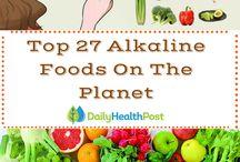 Alkaline eating