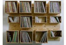 vinyl shelfs