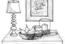 Line Drawings Shade & Shadow