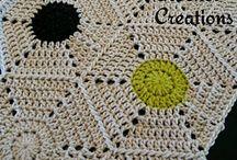 crochet hexagon free
