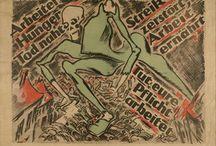 1920s posters, printed material, etc.
