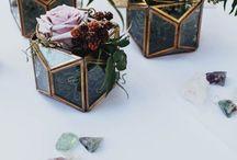 Geometric Wedding Inspo