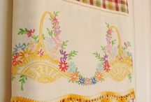 Vintage Linens / by Rickie Autrey