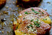 Redskin Parmesan potatoes