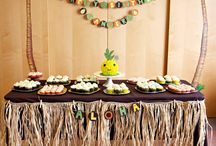 Hawaiian party ideas