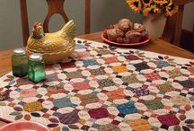 Quilt for table