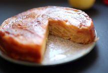 Gâteaux et tartes aux pommes