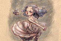 Mermaids Drink Rum / by Talena Belle