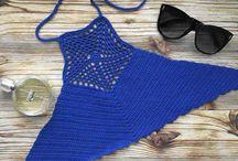 TOP crochet crop top