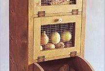ντουλάπι κουζίνας για πατάτες,κρεμμυδια