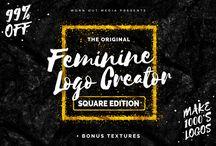 Feminine graphic / Feminine graphic