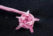 bordados e costura a mão