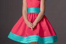 vestido nena muy bonito
