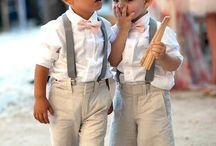 bruiloft kleding jongens
