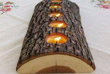 Dřevěné ozdoby
