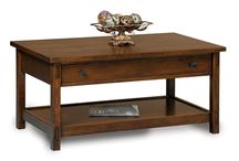 Accent Tables / Our handcrafted accent tables will be the perfect final touch to your living room enjoyment.