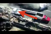 Viral Video - VIDEO - Fatal Crashes Truck and Against Workers Cleaning Highway