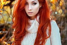 Orange hair / looking for inspiration for colouring my hair