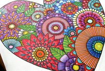 Zentangle Art, mandalas, etc