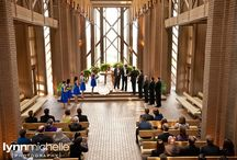 traditional royal blue wedding / A traditional royal blue and apple green wedding with fun details.