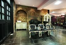 Hair salon- interior design