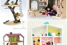 Игрушечные домики / Домики для кукол