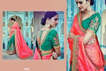 Exclusive Latest Half and Half Designer Sarees Collection