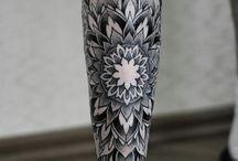 Татуировки на ногах