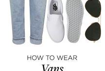 how to wear vans