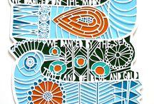 Paper cutting  / by Vikki Johnson