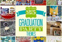 Graduation Parties / High School & College Graduation party planning ideas.