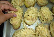 Gefuellte kartoffel