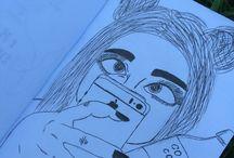 Моё творчество / Я рисую как умею